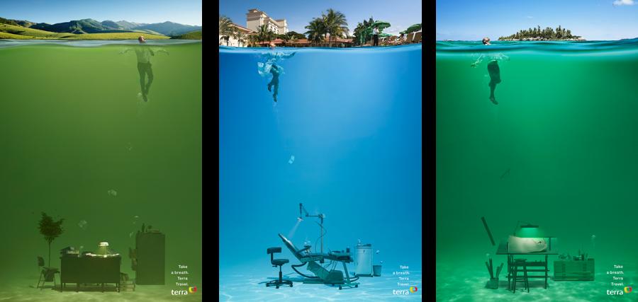 Poster du lịch đẹp và ấn tượng từ Terra Travel